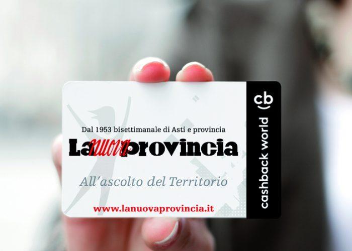 Cashback Card de La Nuova Provincia
