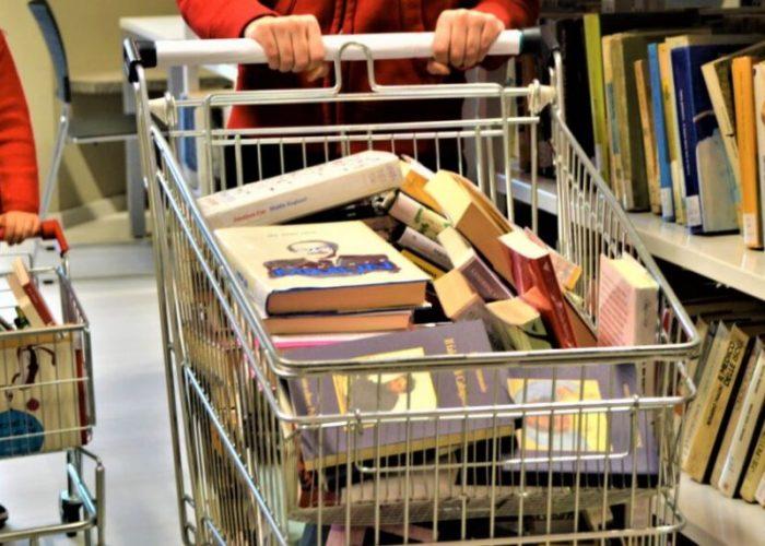 carrello libri