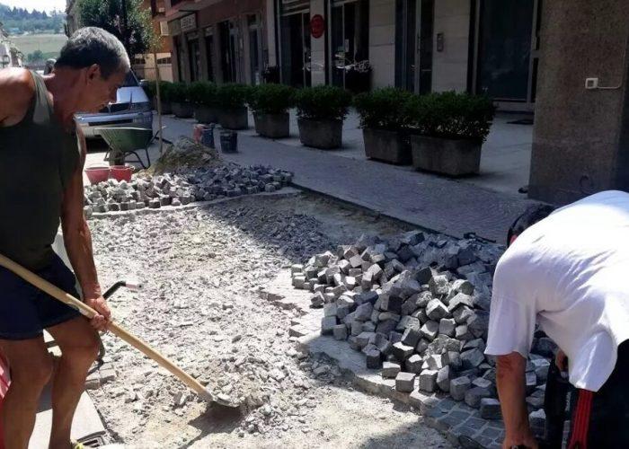 costigliole lavori via roma