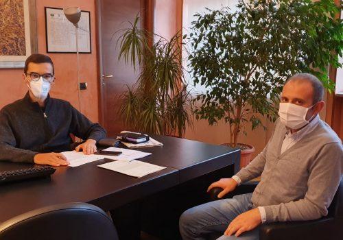 Il presidente Lanfranco e il consigliere delegato Massaglia