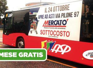 I bus con la nostra pubblicità