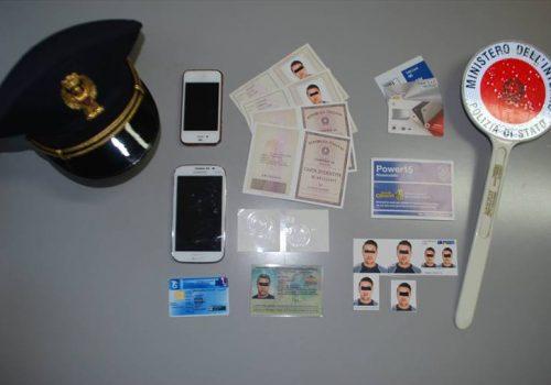documenti falsi polizia
