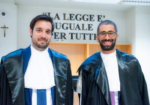 elio sparacino stefano cotti magistrati giudici tribunale di asti