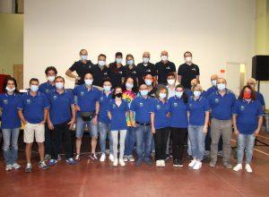 il team di FormInLife con i dipendenti e i titolari del Mollificio Astigiano