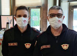 mascherine tribunale