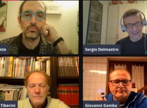 Max Ponte, Sergio Delmastro, Giorgio Tiberini e Giovanni Gamba