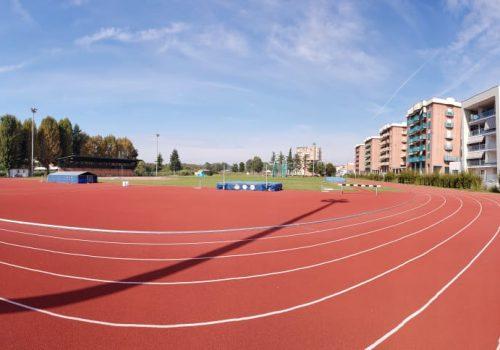 La pista di atletica