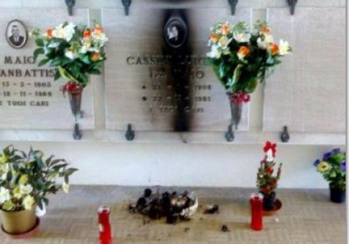 vandali cimitero